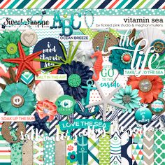 Vitamin Sea by Meghan Mullens & Tickled Pink Studio