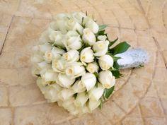 #στολισμός γαμου νυφικη ανθοδέσμη μονο τριαντάφυλλο