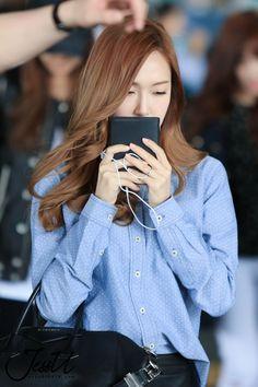Jessica SNSD airport fashion April 2014
