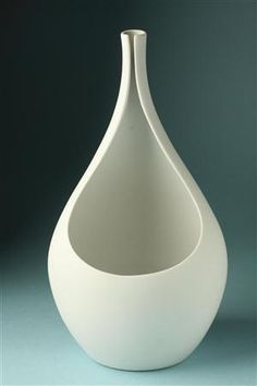Vase by Stig Lindberg for Gustavsberg, Sweden, 1950s.