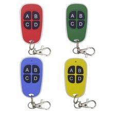 Universal 433mhz Remote Control Wireless 4 Keys Copy Cloning Garage Door Remote Control Dup Garage Door Remote Control Garage Door Opener Remote Remote Control