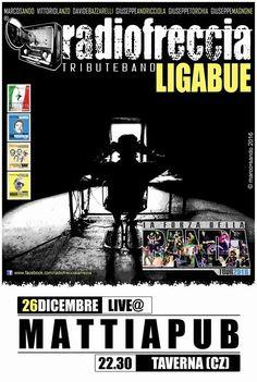 Ritorna sul palco del mattia pub la cover di Ligabue i radiofreccia https://www.facebook.com/Radiofreccia-Tribute-Band-Ligabue-111938975585460/