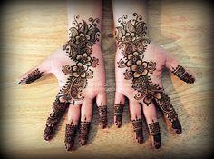 Shailjah's engagement henna 2013 © NJ's Unique Henna Art | by NJ's Unique Henna Art