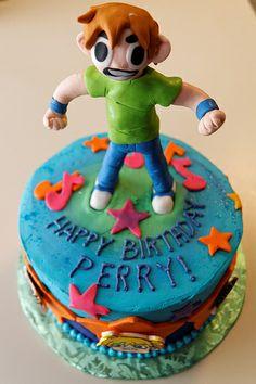 Scott Pilgram Birthday cake