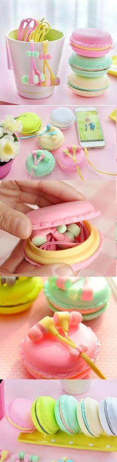 Macarons Earbuds