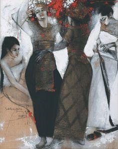 'Sebelum Pentas' (2004) by Sunaryo