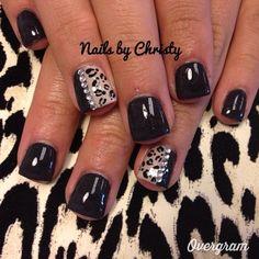 Fierce Cheetah Nails