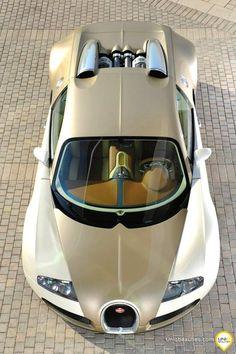 Tan Bugatti Veyron, from Iryna