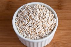Popped Amaranth cereal (lots of protein)