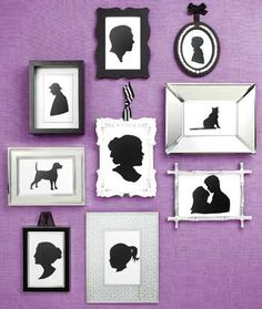I want to do this!!! Especially with a silhouette of Brock (our American Bulldog)!