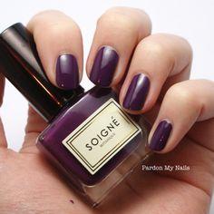 Pardon My Nails   UK Nail Art Blog: Soigné Nail Polish: Review and Swatches*