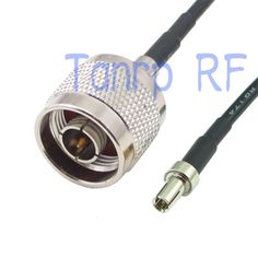 6in N male plug to TS9 male plug RF connector adapter 15CM Pigtail coaxial jumper cable RG174 extension cord #Affiliate