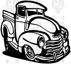 old truck decal