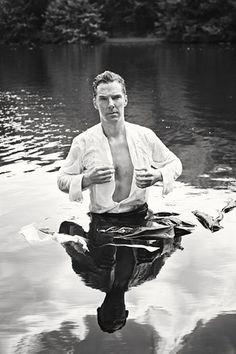 Benedict Cumberbatch as Mr. Darcy