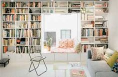 I love it. A wall full of books. Plenty of light, and a built in reading area.