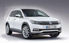 2016 Volkswagen Tiguan - front