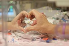 Great idea to show comparison... Doesn't have to be heart though. Also, I think NICU photos are nice in b/w