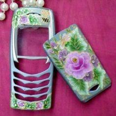 Роспись мобильного телефона - Декор