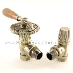 New style #radiator #valves, available in a number of finishes