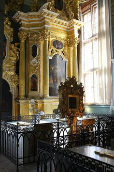 Peter and Paul Cathedral, Tomb of Catherine the Great and other Tsars, St Petersburg