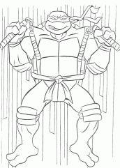 Desenho Tartaruga Ninja Para Colorir Tartaruga Ninja Para