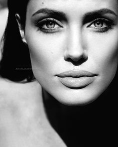Angelina is Jolie (pretty in french)