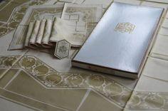 Museumsstück  ROSENTHAL Maria weiß Tischdecke Tafeltuch + 6 Servietten  Original