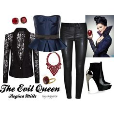 The Evil Queen / Regina Mills Look (Once Upon a Time)