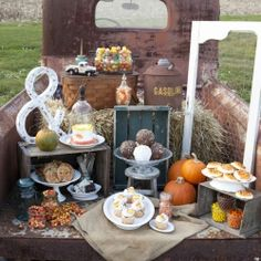 Rustic | Dessert Table | Sweet Table | Candy Bar | Candy Buffet