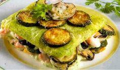 O queste meravigliose lasagne con zucchine e frutti di mare!    http://www.buonissimo.org/ricette/6967_lasagneconzucchineefruttidimare.asp