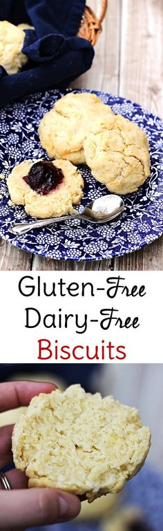Y'all these are seriously the best gluten free dairy free biscuits! After 6 attempts I ought to know. These gluten free drop biscuits are easy too!