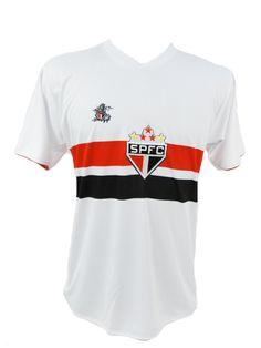 Camisa Do Torcedor São Paulo Fc (1000)  83ca4444ceddd