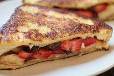 #Banana #Split #French #Toast 15 #Fabulous French Toast Recipes | All Yummy #Recipes