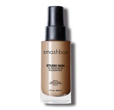 What Crystal wears to battle Lupus Rash: Smashbox Studio Skin 15 Hour Wear Hydrating Foundation with SPF 10 Smashbox Studio Skin Foundation, Foundation For Oily Skin, Best Foundation, Liquid Foundation, Foundation Shade, Foundation Colors, Makeup Foundation, All Things Beauty, Beauty Make Up