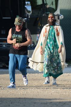All of Jared Leto's Craziest Summer Outfits, So Far Photos | GQ