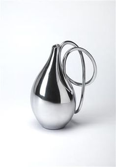 Hors D'oeuvres Metal Vase