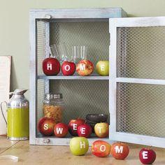 Apfel-Deko - kreative Ideen mit Frucht - apfel-deko-start0  Rezept