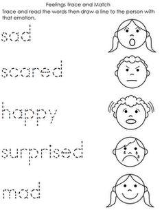 feeling worksheets