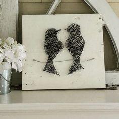 Love Birds String Art