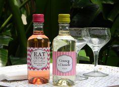 Mini Wine Bottles Wedding Favors