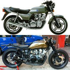 Zie het verschil, dat ga ik ook met mijn Yamaha Tw 125 doen!