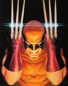 Marvel Visons: Wolverine Signed by Alex Ross #Canvas