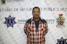 <p>Juárez, Chih.- Elementos de la Policía Municipal realizaron el arresto de Alberto B. A., por su presunta responsabilidad en la comisión
