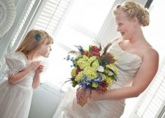 Mother and daughter.  nothing more precious than blending families with a #wedding.