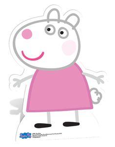 peppa pig Character L Molde Peppa Pig, Peppa Pig Imagenes, Peppa Pig Teddy, Cumple Peppa Pig, Peppa Pig Personajes, Peppa Pig Familie, Familia Peppa Pig, Aniversario Peppa Pig, Pig Character