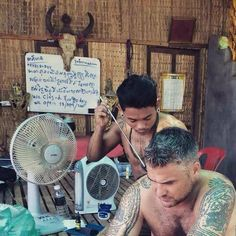 Traditional Khmer Sak Yant Tattoos by Bong Pinthorng