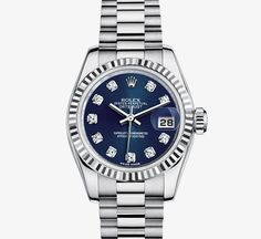 Oyster Perpetual Lady-Datejust, 26mm - White Gold