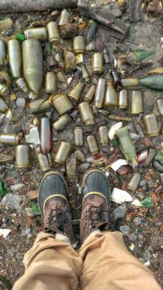 bottles found on dead horse bay