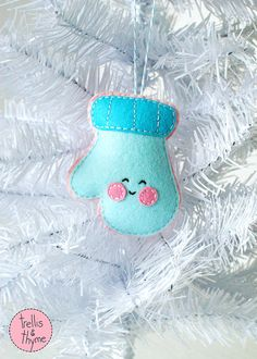PDF Pattern Cheery Mitten Kawaii Christmas by sosaecaetano                                                                                                                                                                                 More