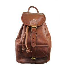 sac a dos small leather backpack by ismad london | notonthehighstreet.com